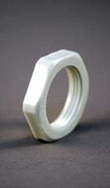 Metric To Standard >> PVC Lock Nut at PEW Electrical