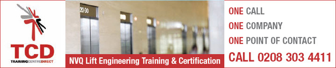 NVQ Lift Engineering Training & Certification