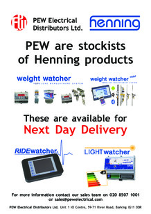 Henning products