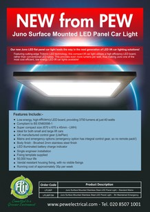 Juno LED Lift Car Light