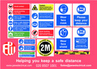 Buy Online - Workplace Safe Distance Kit 8 person